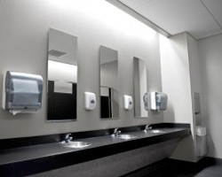 Commercial services super maids for Office building bathroom design